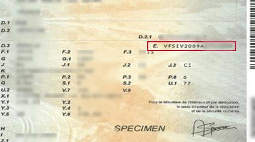carte grise numéro de chassis Rendez vous atelier : Daniel Automobiles